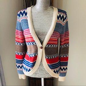 {Copper Key} tribal print sweater